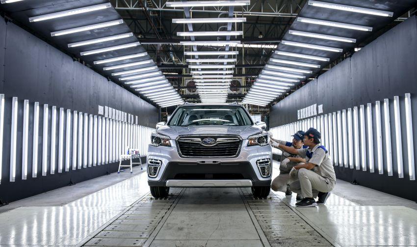 Tan Chong Subaru Automotive (Thailand) launched – produces new Subaru Forester for Malaysian market Image #952427