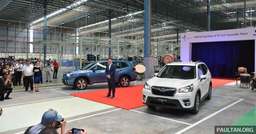 Tan Chong Subaru Automotive (Thailand) launched – produces new Subaru Forester for Malaysian market Image #952464