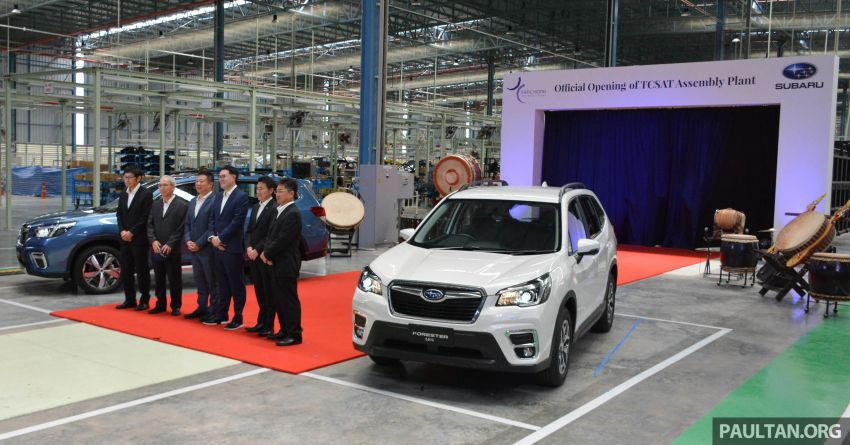 Tan Chong Subaru Automotive (Thailand) launched – produces new Subaru Forester for Malaysian market Image #952465