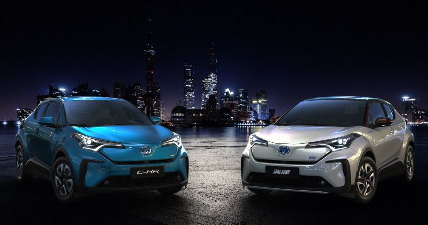 Toyota unveils C-HR EV, Izoa electric cars in China Image #948624