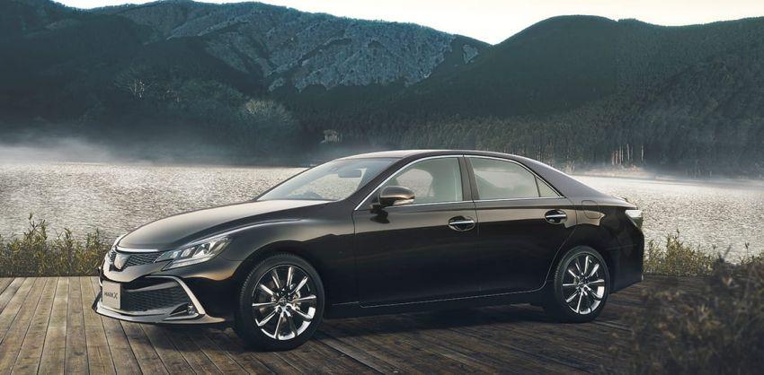 Toyota Mark X Final Edition – RWD sedan bids farewell Image #953057