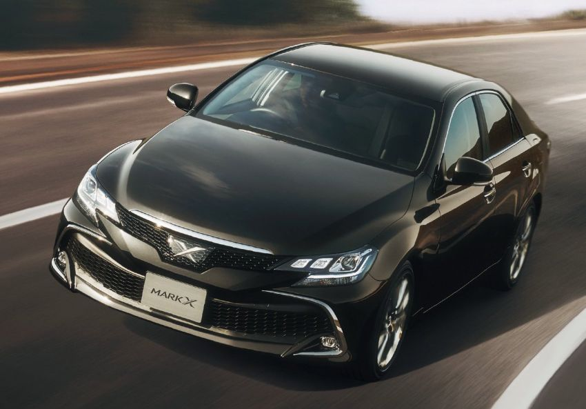 Toyota Mark X Final Edition – RWD sedan bids farewell Image #953055
