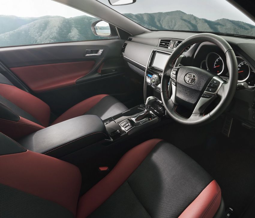 Toyota Mark X Final Edition – RWD sedan bids farewell Image #953056