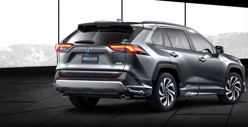 Toyota RAV4 gains TRD and Modellista parts in Japan Image #947361