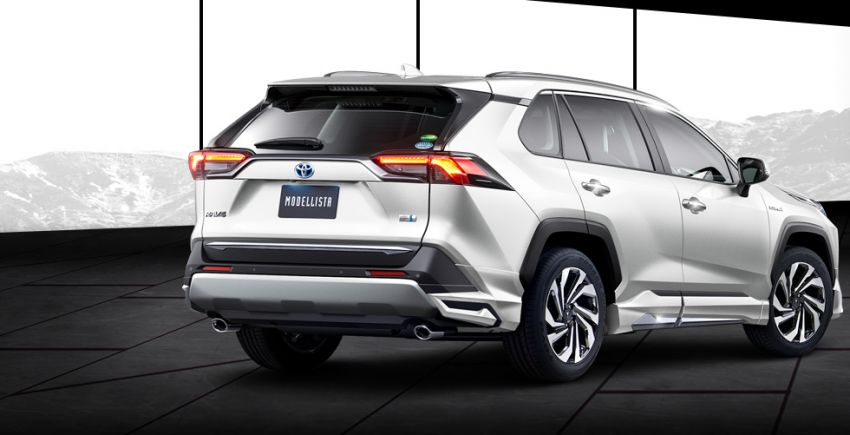 Toyota RAV4 gains TRD and Modellista parts in Japan Image #947363