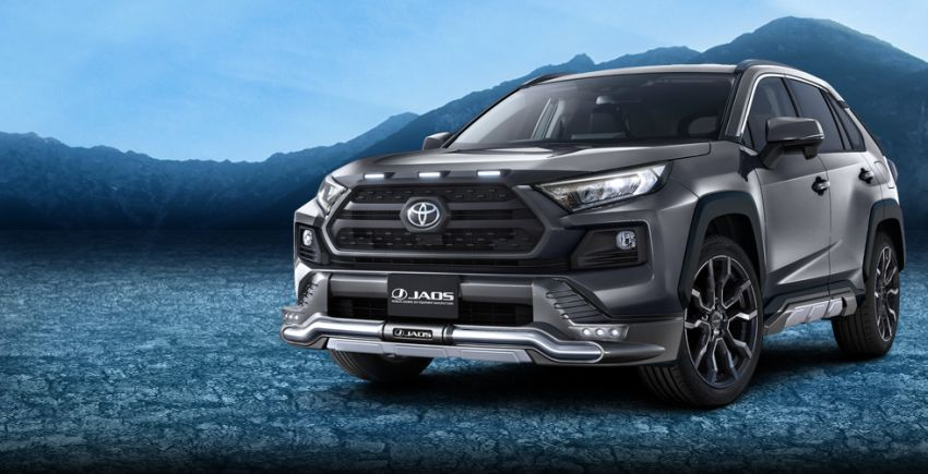 Toyota RAV4 gains TRD and Modellista parts in Japan Image #947373