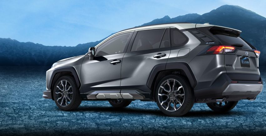 Toyota RAV4 gains TRD and Modellista parts in Japan Image #947382