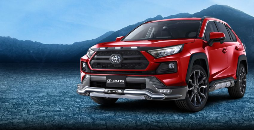 Toyota RAV4 gains TRD and Modellista parts in Japan Image #947383