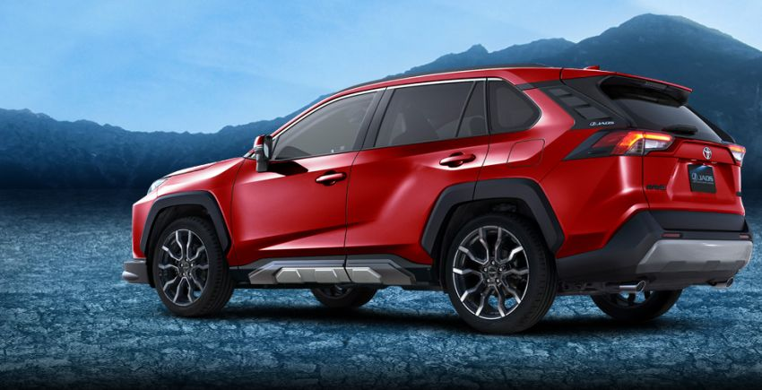 Toyota RAV4 gains TRD and Modellista parts in Japan Image #947384