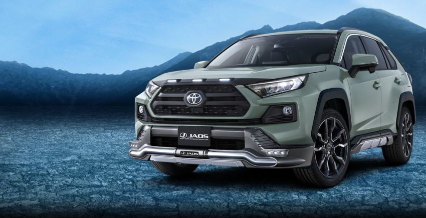 Toyota RAV4 gains TRD and Modellista parts in Japan Image #947385