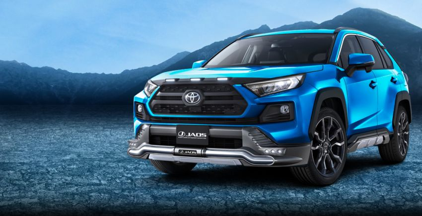 Toyota RAV4 gains TRD and Modellista parts in Japan Image #947387