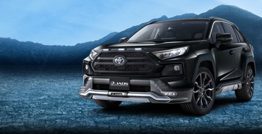 Toyota RAV4 gains TRD and Modellista parts in Japan Image #947389