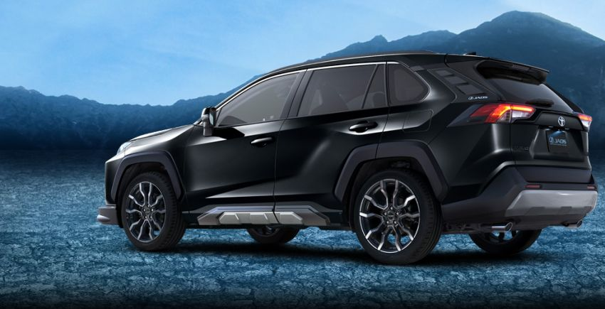 Toyota RAV4 gains TRD and Modellista parts in Japan Image #947390