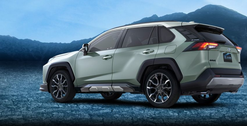 Toyota RAV4 gains TRD and Modellista parts in Japan Image #947376