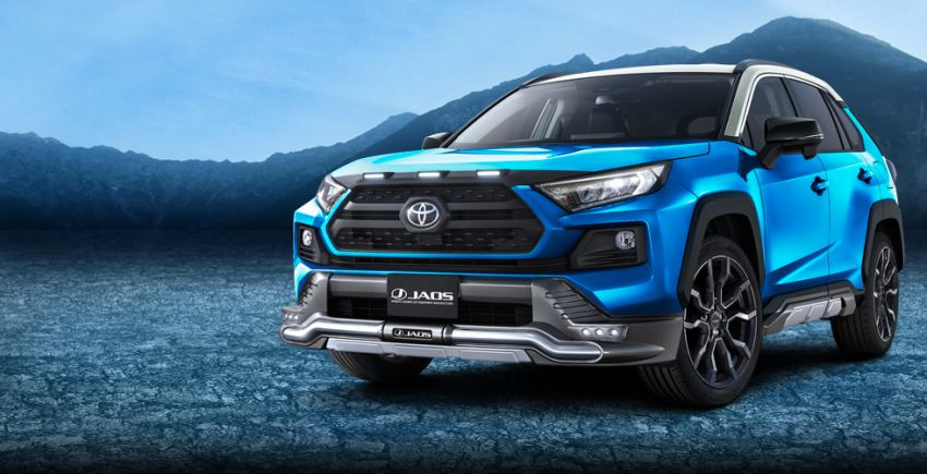 Toyota RAV4 gains TRD and Modellista parts in Japan Image #947377