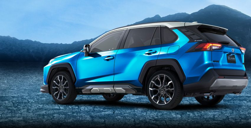 Toyota RAV4 gains TRD and Modellista parts in Japan Image #947378