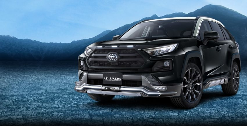 Toyota RAV4 gains TRD and Modellista parts in Japan Image #947379