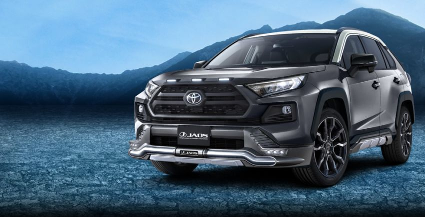 Toyota RAV4 gains TRD and Modellista parts in Japan Image #947381