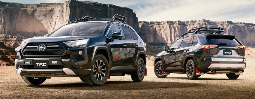 Toyota RAV4 gains TRD and Modellista parts in Japan Image #947317