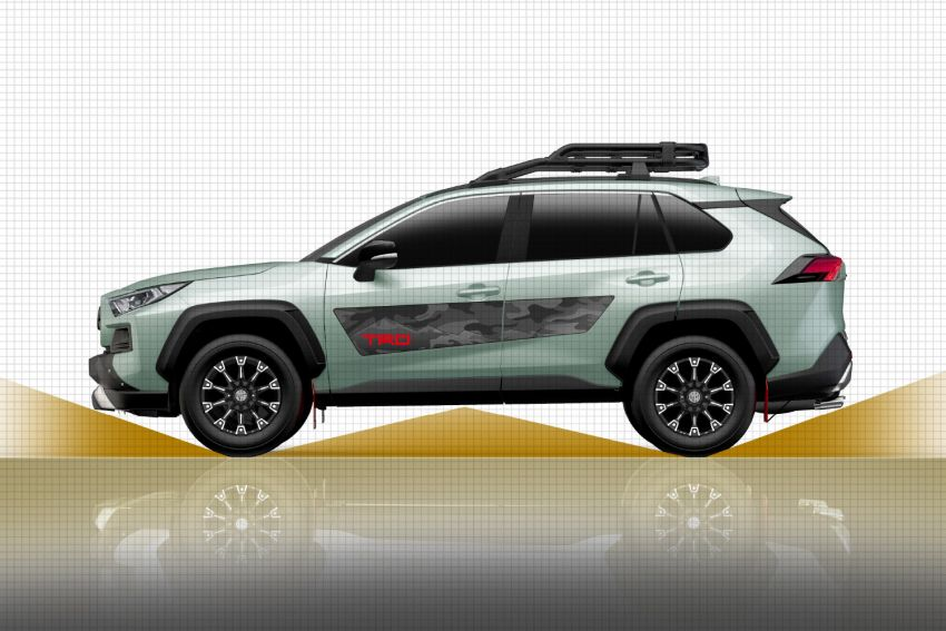 Toyota RAV4 gains TRD and Modellista parts in Japan Image #947318