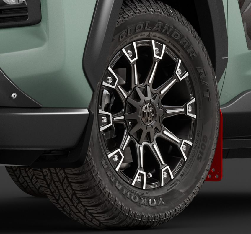 Toyota RAV4 gains TRD and Modellista parts in Japan Image #947336