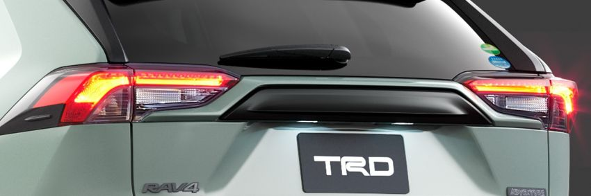 Toyota RAV4 gains TRD and Modellista parts in Japan Image #947321