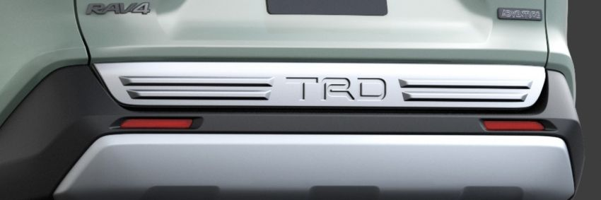 Toyota RAV4 gains TRD and Modellista parts in Japan Image #947322