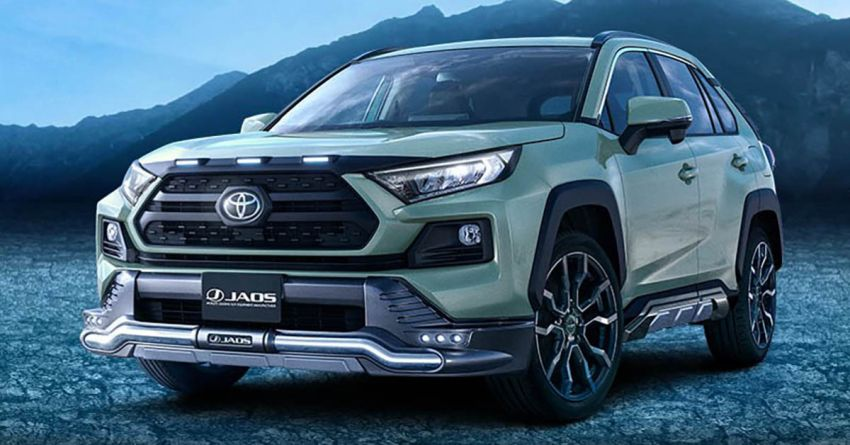 Toyota RAV4 gains TRD and Modellista parts in Japan Image #947430