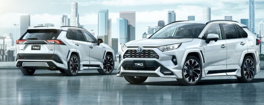 Toyota RAV4 gains TRD and Modellista parts in Japan Image #947337