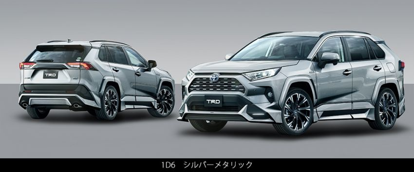Toyota RAV4 gains TRD and Modellista parts in Japan Image #947347