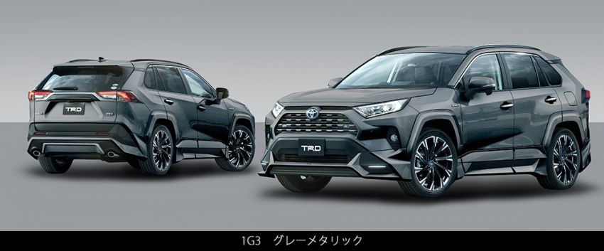 Toyota RAV4 gains TRD and Modellista parts in Japan Image #947348