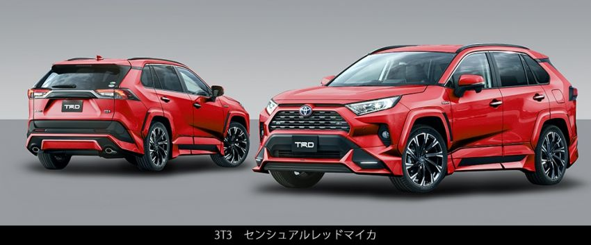 Toyota RAV4 gains TRD and Modellista parts in Japan Image #947349