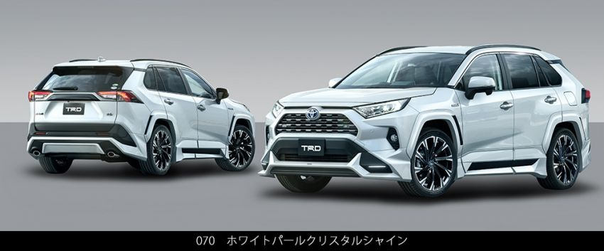Toyota RAV4 gains TRD and Modellista parts in Japan Image #947351