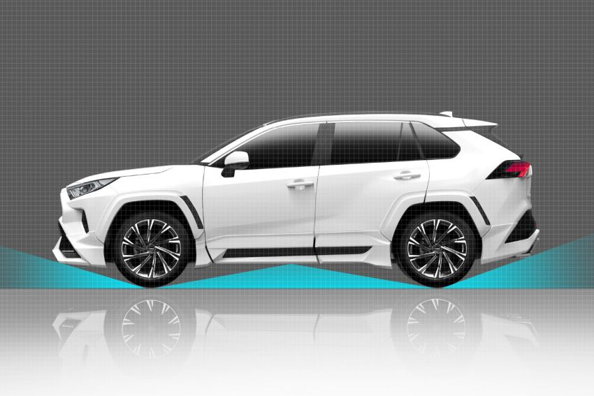 Toyota RAV4 gains TRD and Modellista parts in Japan Image #947338