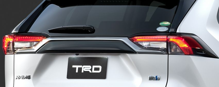 Toyota RAV4 gains TRD and Modellista parts in Japan Image #947343