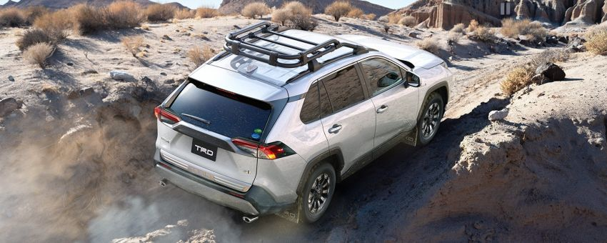 Toyota RAV4 gains TRD and Modellista parts in Japan Image #947355