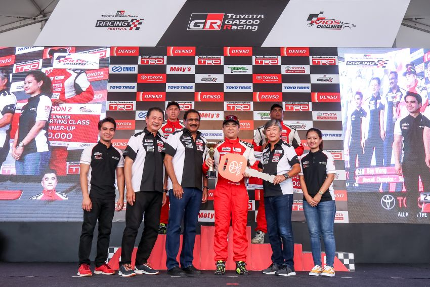 Toyota Vios Challenge Season 2 ends with Boy Wong, Brendon Lim and Diana Danielle as overall champions Image #954562