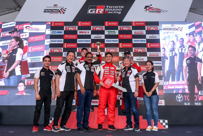 Toyota Vios Challenge Season 2 ends with Boy Wong, Brendon Lim and Diana Danielle as overall champions Image #954563