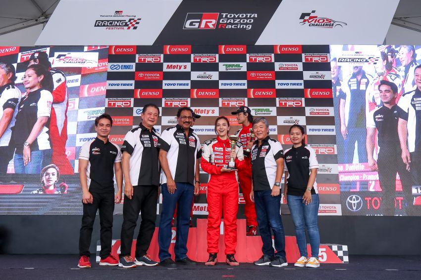 Toyota Vios Challenge Season 2 ends with Boy Wong, Brendon Lim and Diana Danielle as overall champions Image #954564
