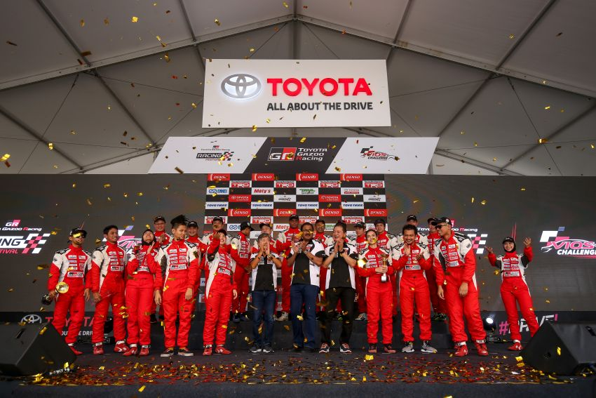 Toyota Vios Challenge Season 2 ends with Boy Wong, Brendon Lim and Diana Danielle as overall champions Image #954566