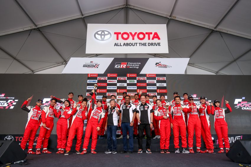 Toyota Vios Challenge Season 2 ends with Boy Wong, Brendon Lim and Diana Danielle as overall champions Image #954567