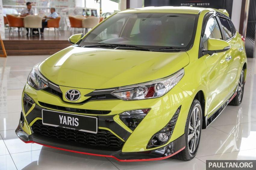 2019 Toyota Yaris 1.5G displayed in PJ – RM84,888 est. Image #944908