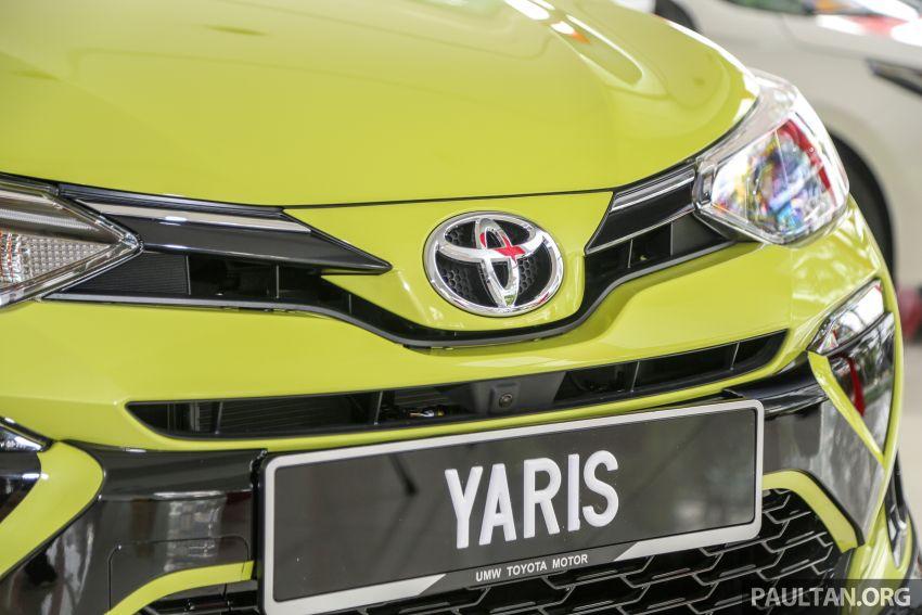2019 Toyota Yaris 1.5G displayed in PJ – RM84,888 est. Image #944919