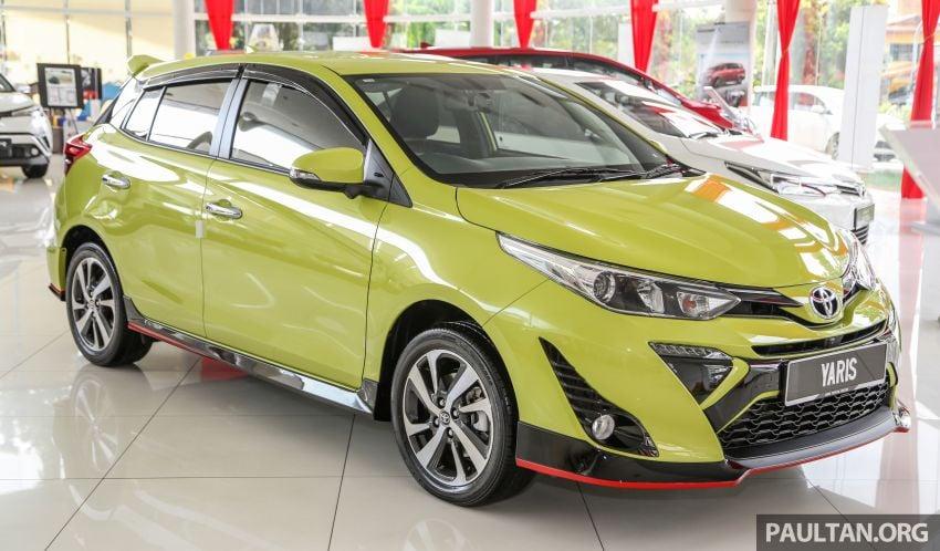 2019 Toyota Yaris 1.5G displayed in PJ – RM84,888 est. Image #944909