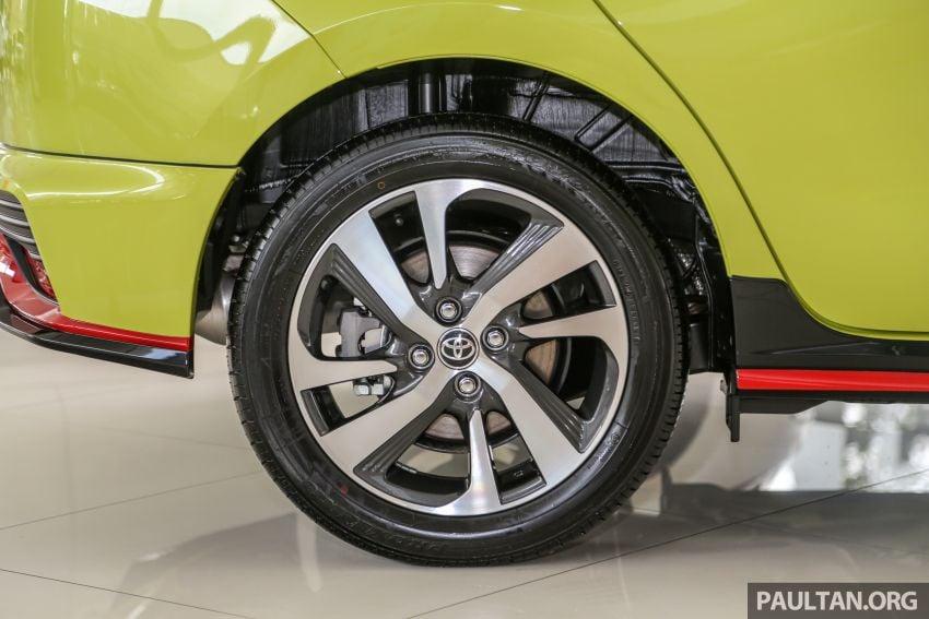 2019 Toyota Yaris 1.5G displayed in PJ – RM84,888 est. Image #944928