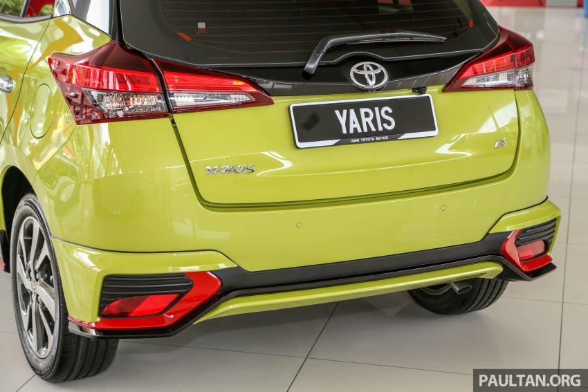 2019 Toyota Yaris 1.5G displayed in PJ – RM84,888 est. Image #944929
