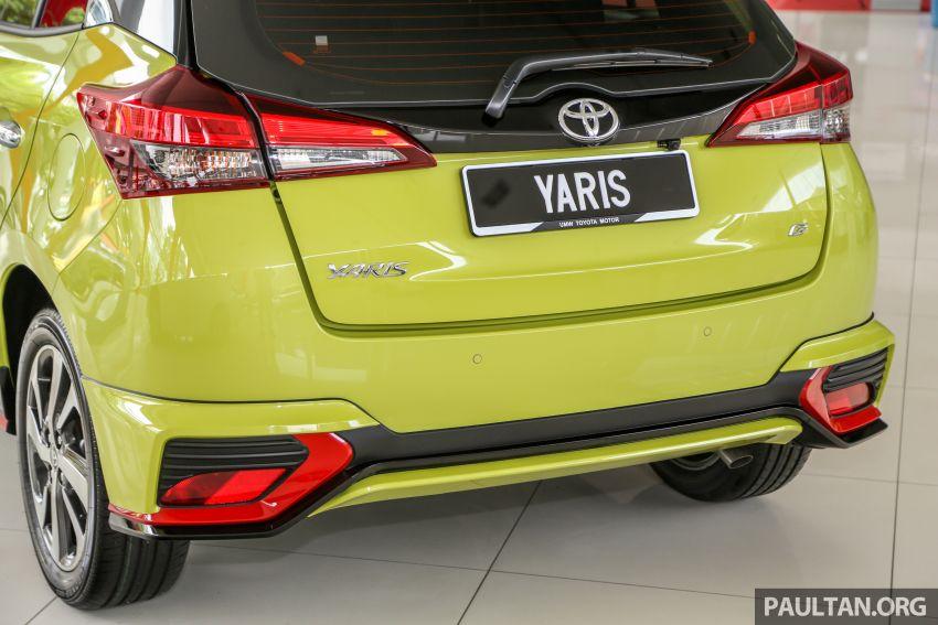 2019 Toyota Yaris 1.5G displayed in PJ – RM84,888 est. Image #944929