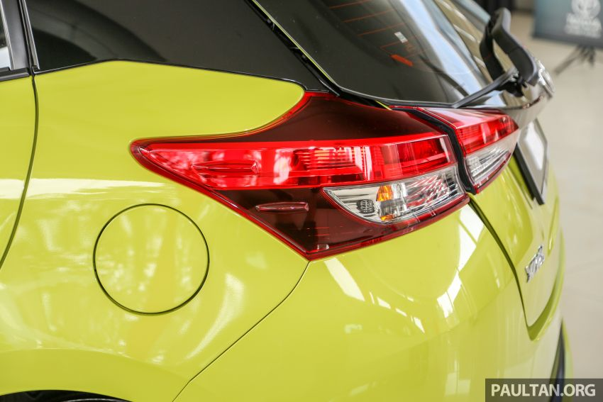 2019 Toyota Yaris 1.5G displayed in PJ – RM84,888 est. Image #944931