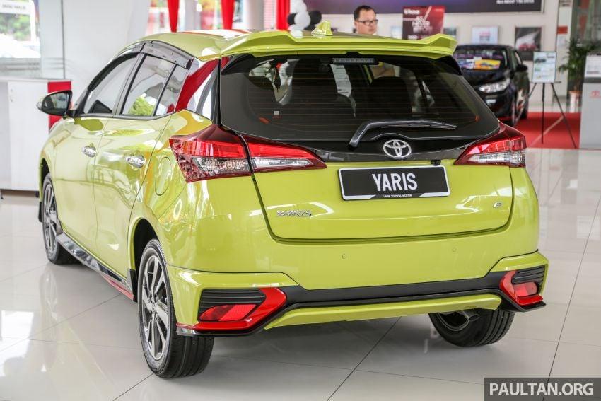 2019 Toyota Yaris 1.5G displayed in PJ – RM84,888 est. Image #944910