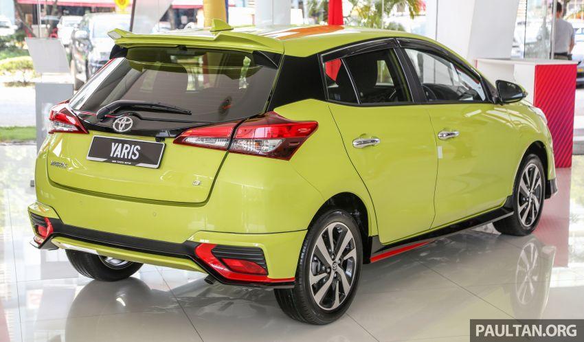 2019 Toyota Yaris 1.5G displayed in PJ – RM84,888 est. Image #944911